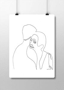 Hasret – Lineart Tablo
